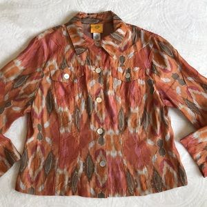 Ruby Rd petite fall colored top size 12P